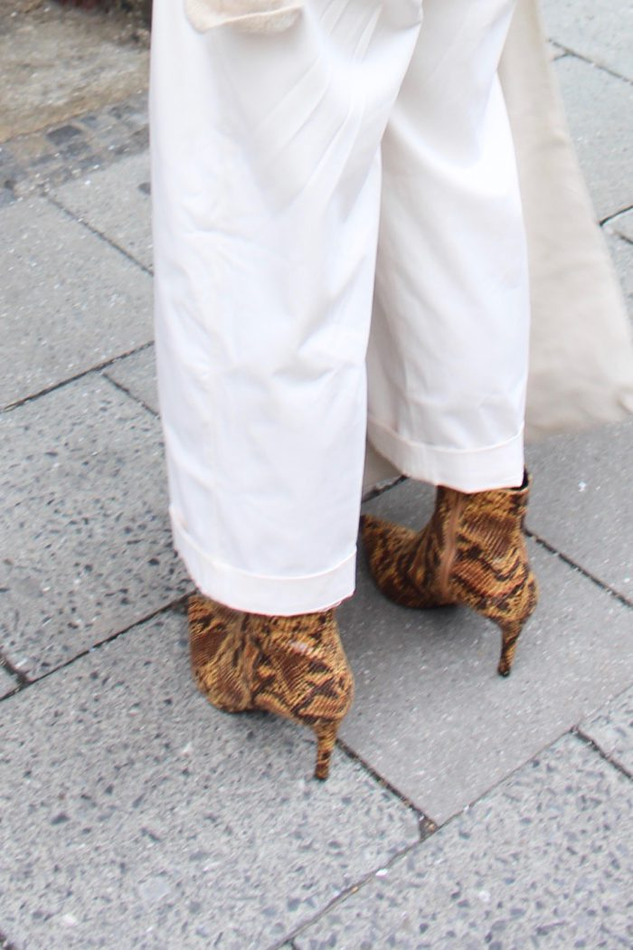 snake boots H&M Trend