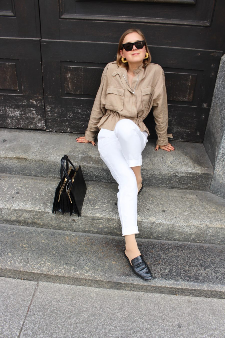 white linen pants massimo dutti