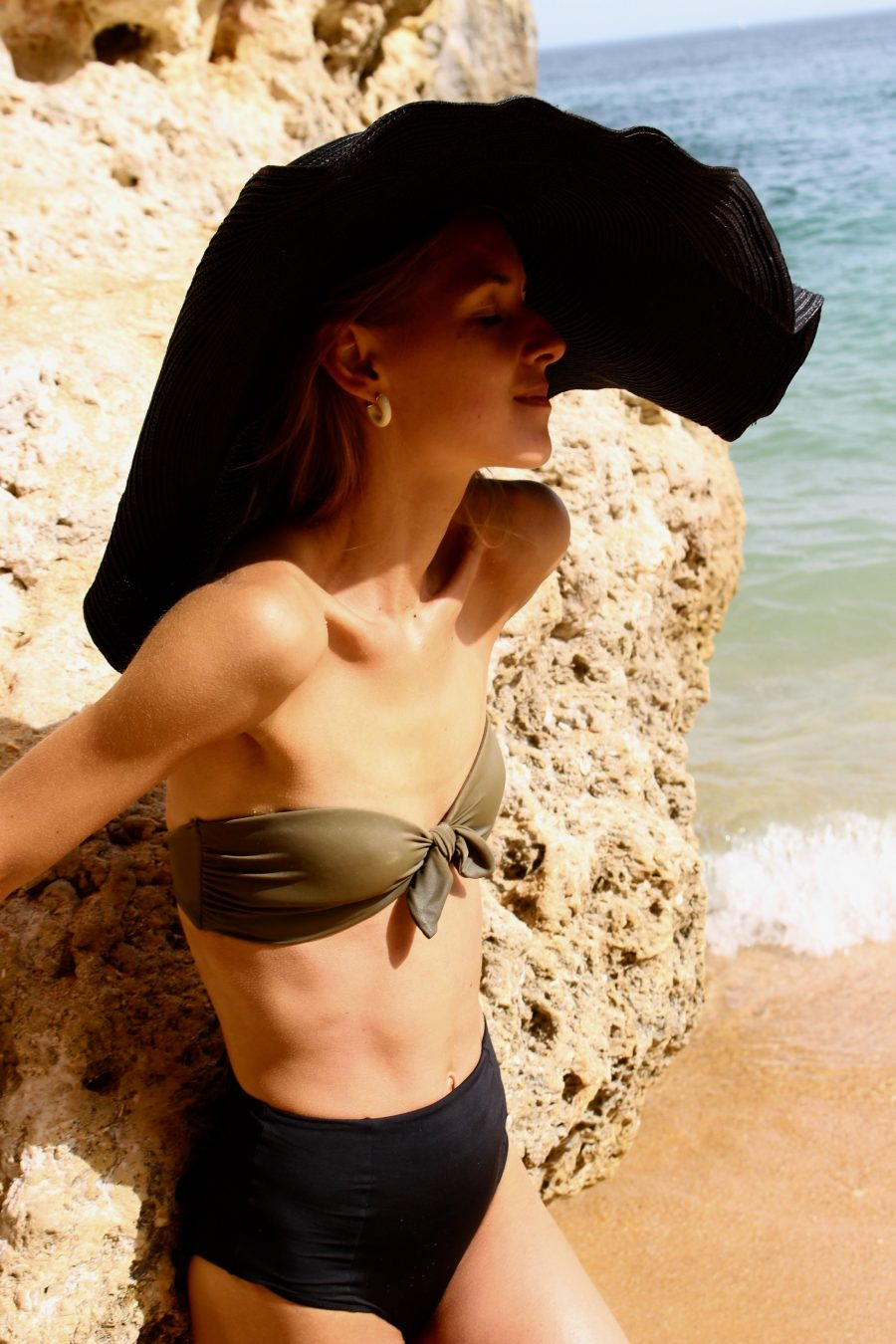 bikini Look H&M Trend khaki and black
