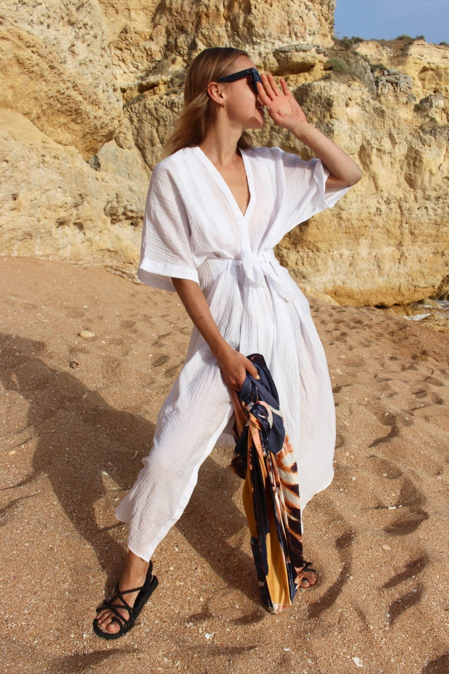 silk dress and silk bag céline H&M Trend