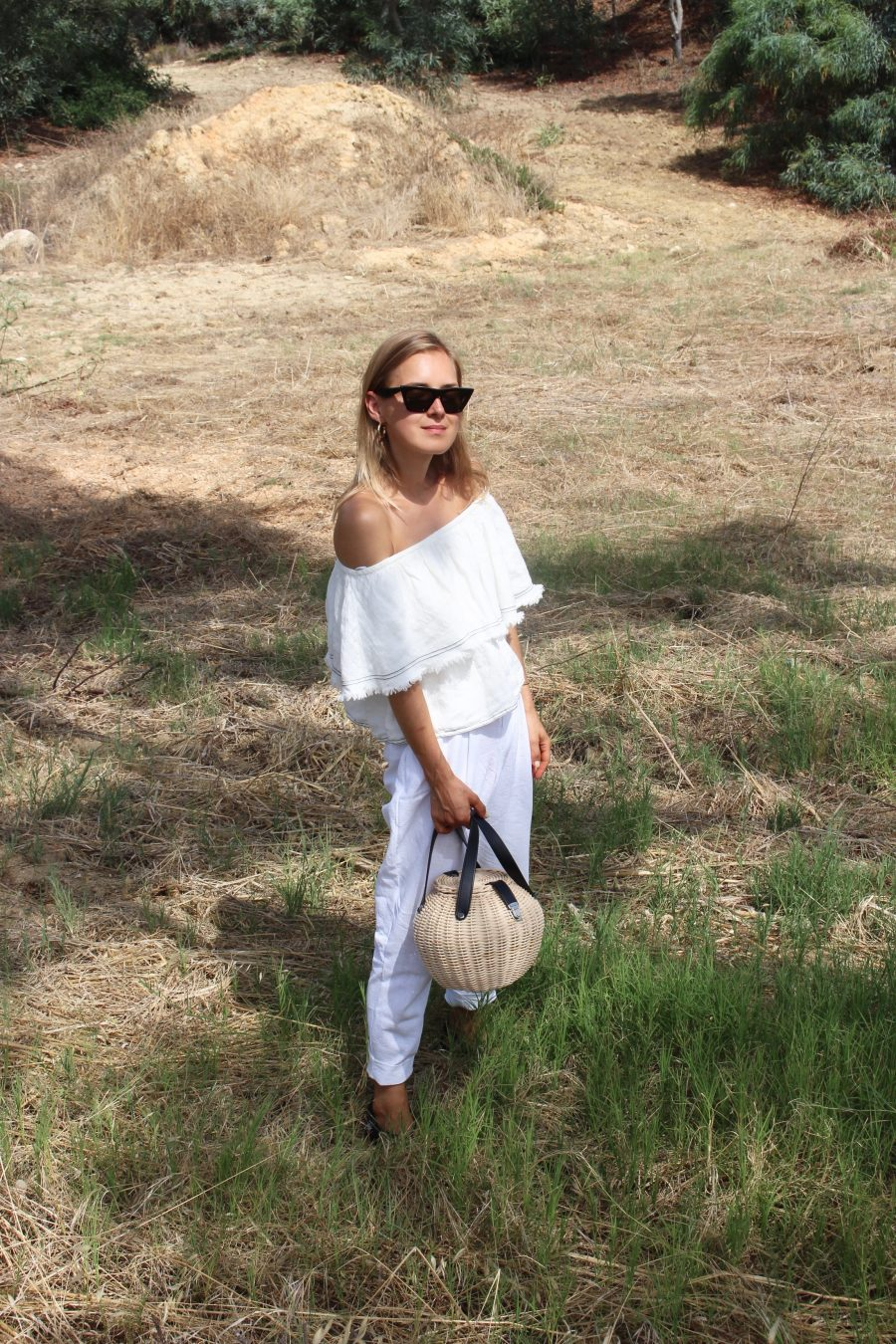 Zara off shoulder top summer 2018
