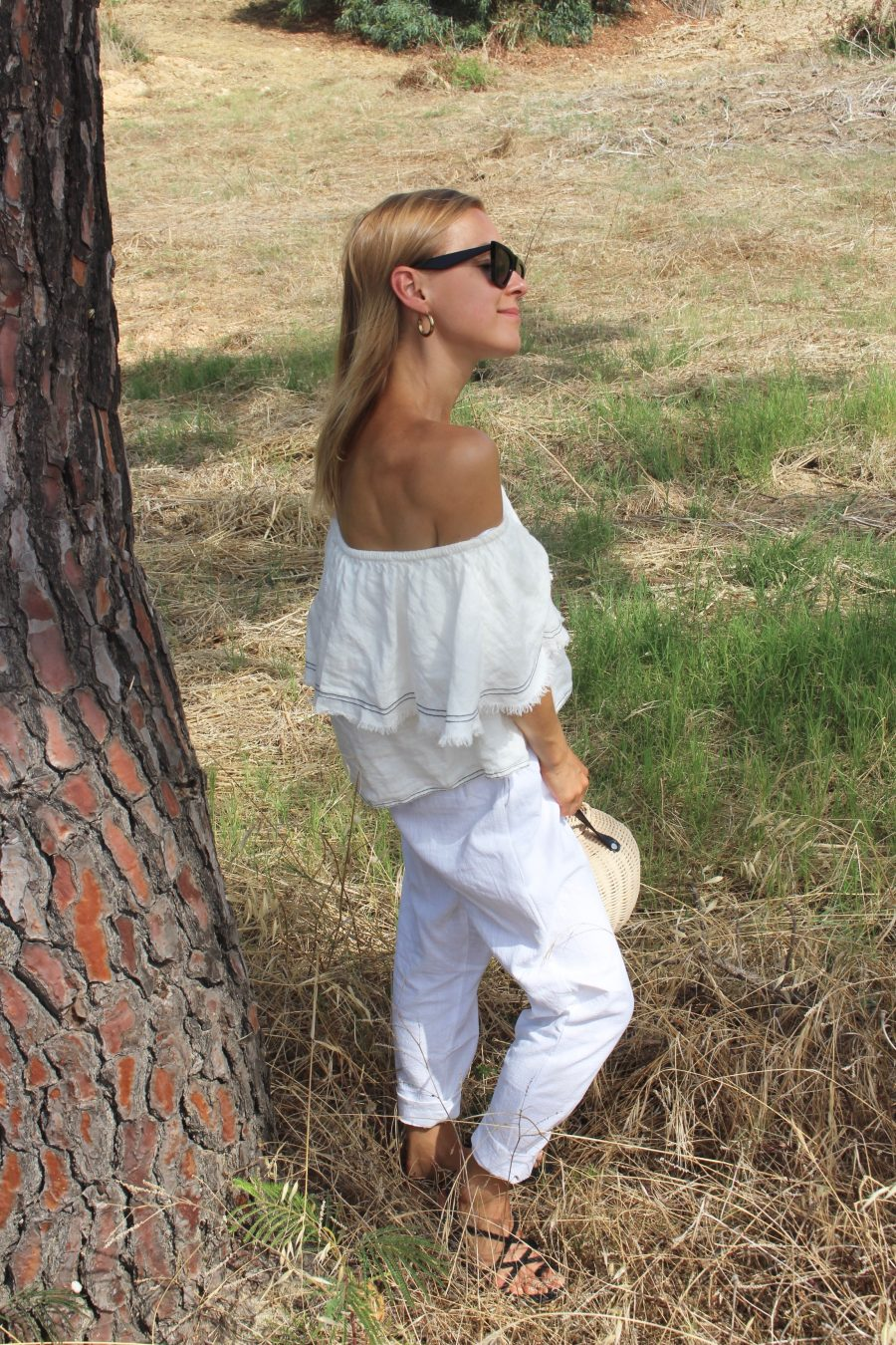 white linen pants mango summer 2018