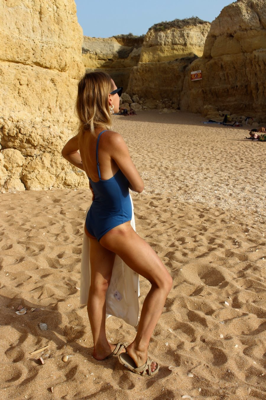 The HER LINE Blue Swimsuit