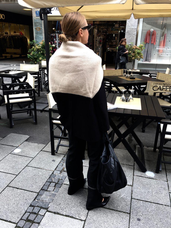 The Black Oversized Blazer |25.11.2018