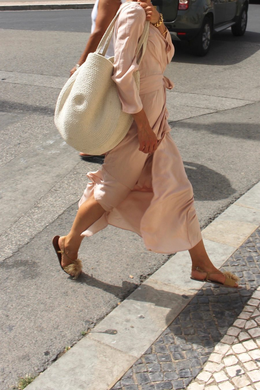 Rose dress maxi H&M Trend