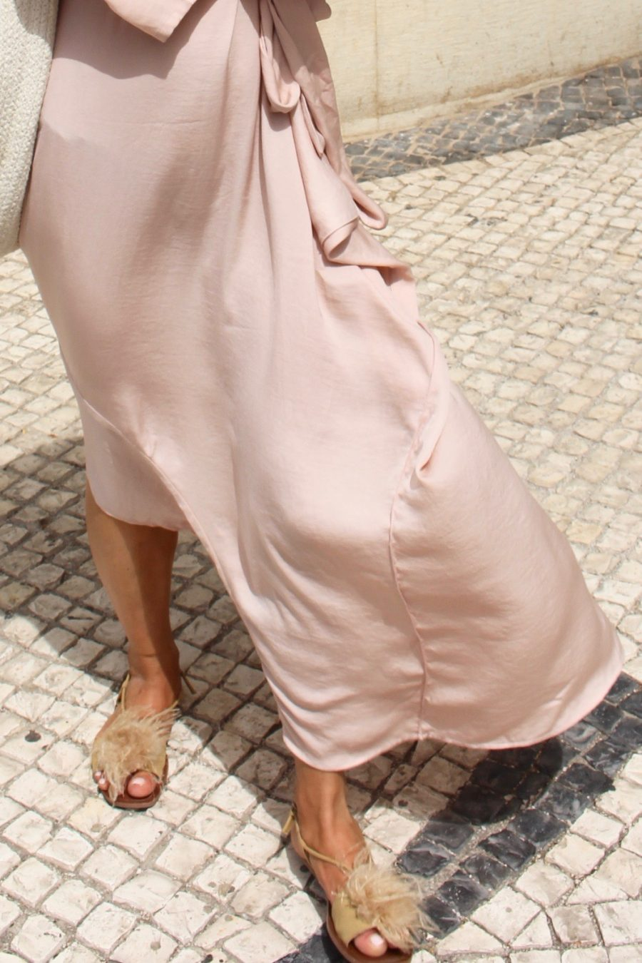 silk dress H&M trend online exclusive