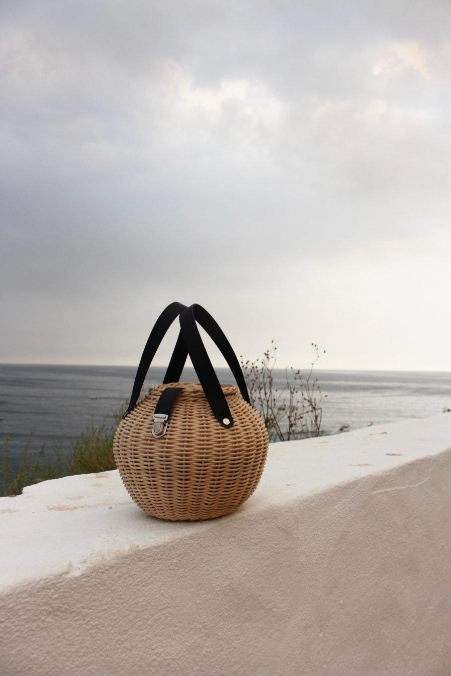 Summer basket bag trend blogger