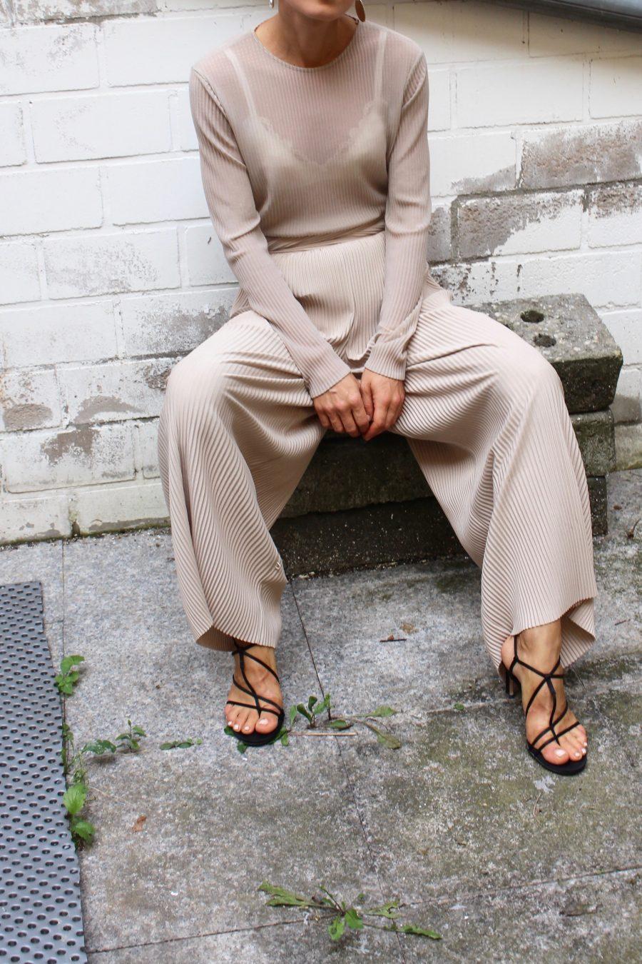 mango sandals céline look