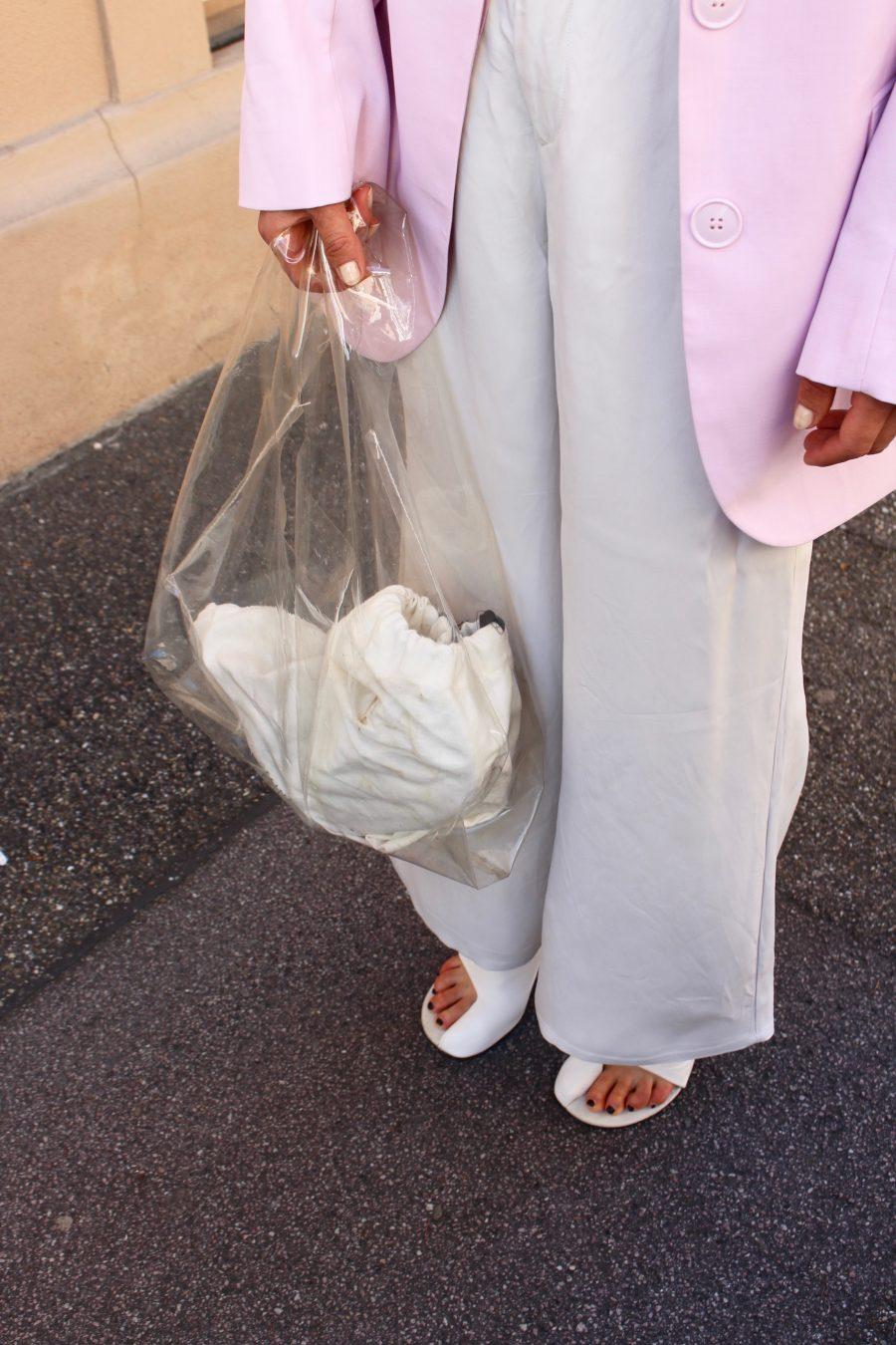 Rosa blazer h&M trend oversized