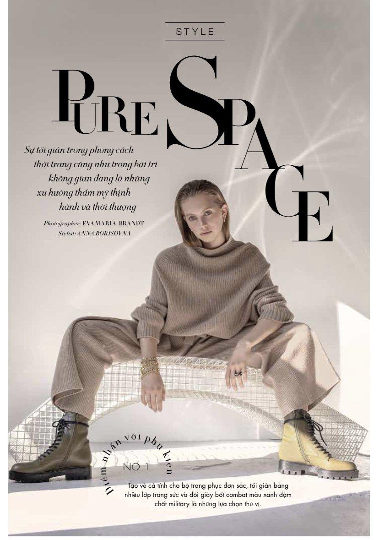 Pure Space, Harper's Bazaar Vietnam December 2020