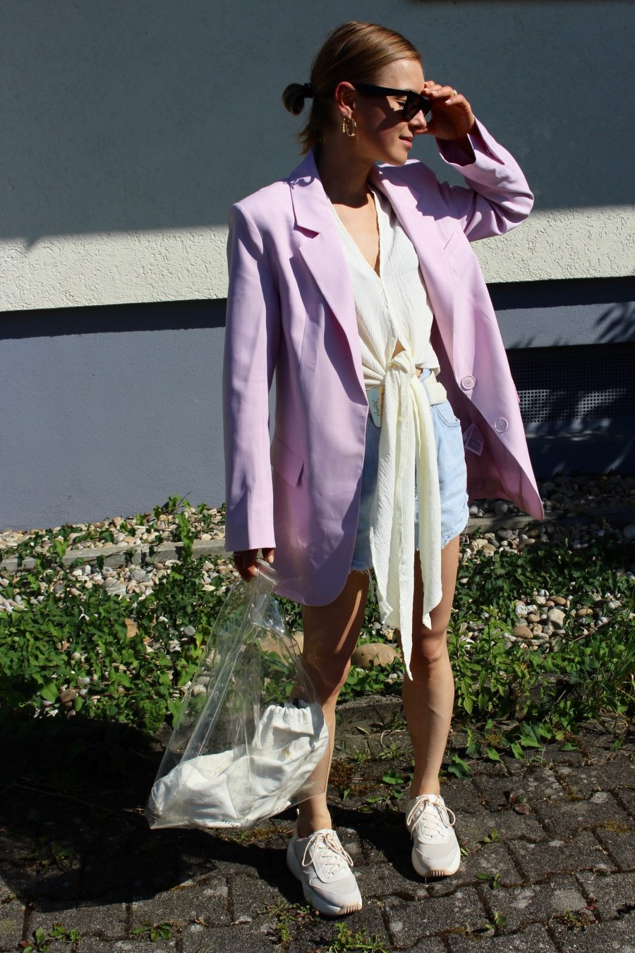 rose blazer H&M