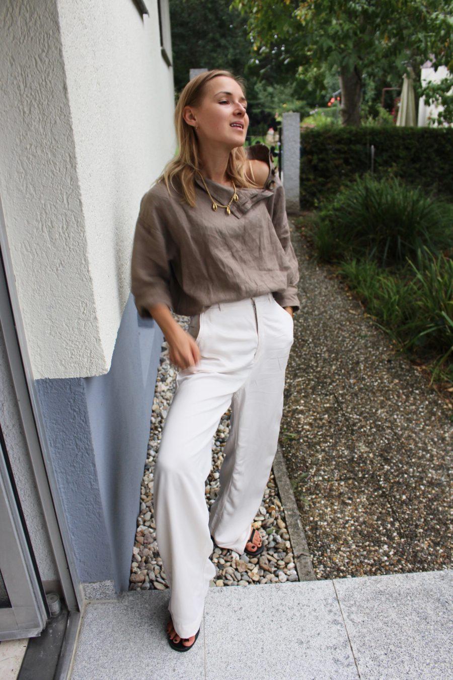 Zara leinen top summer 2018