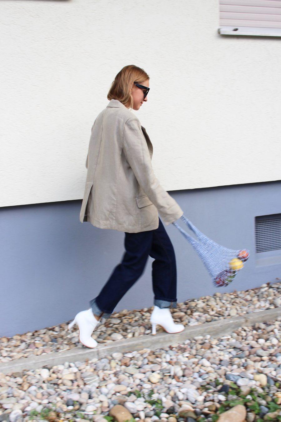 white céline boots