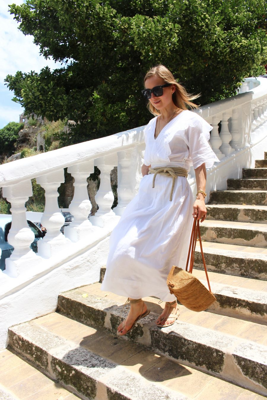 white long maxi dress summer 2018
