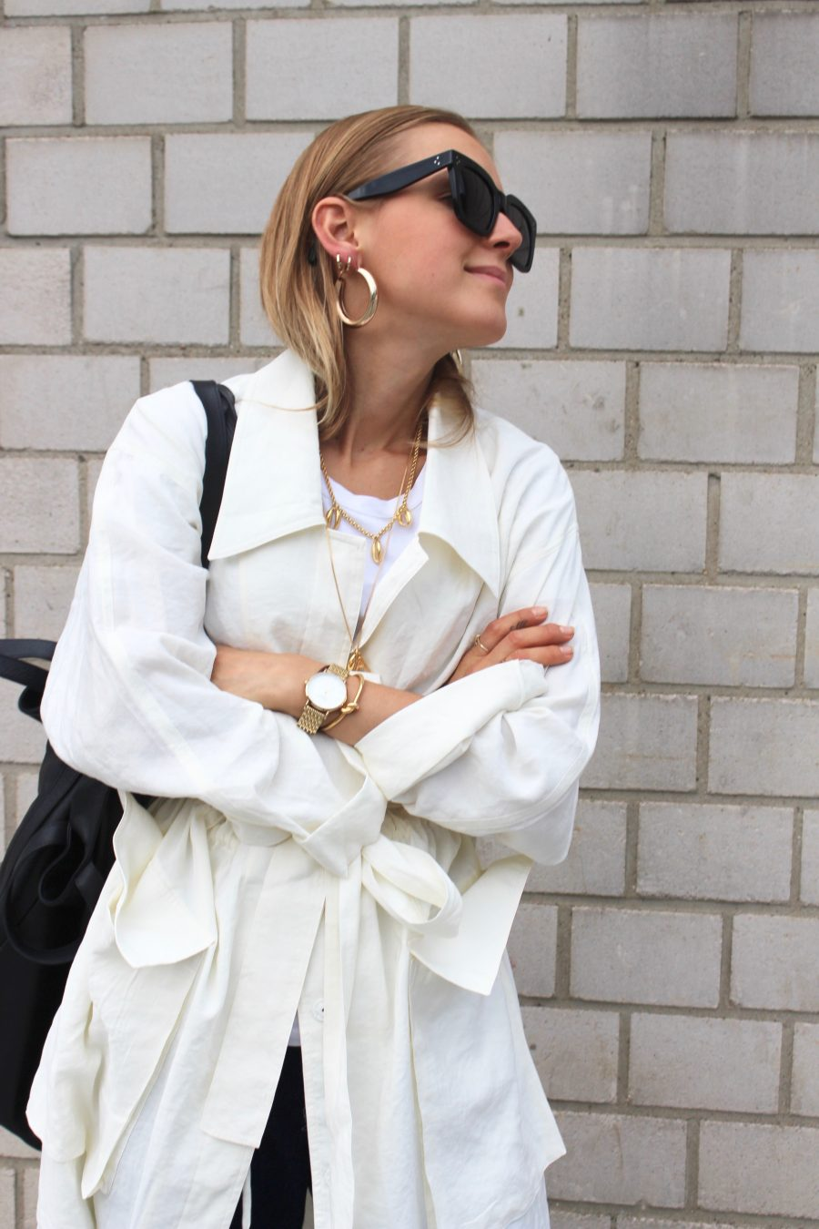 long trench coat h&M Trend