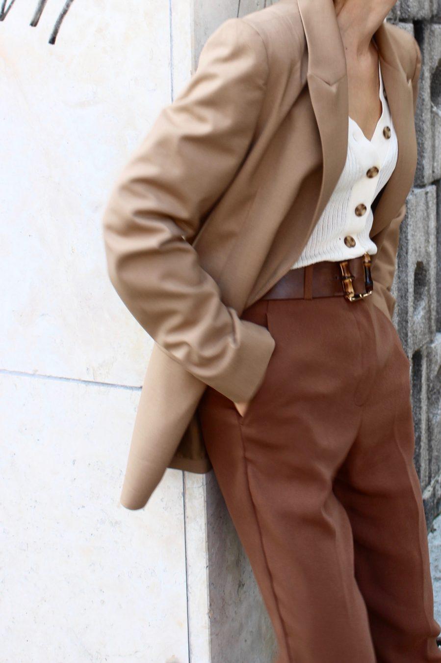 Brown Pants H&M trend