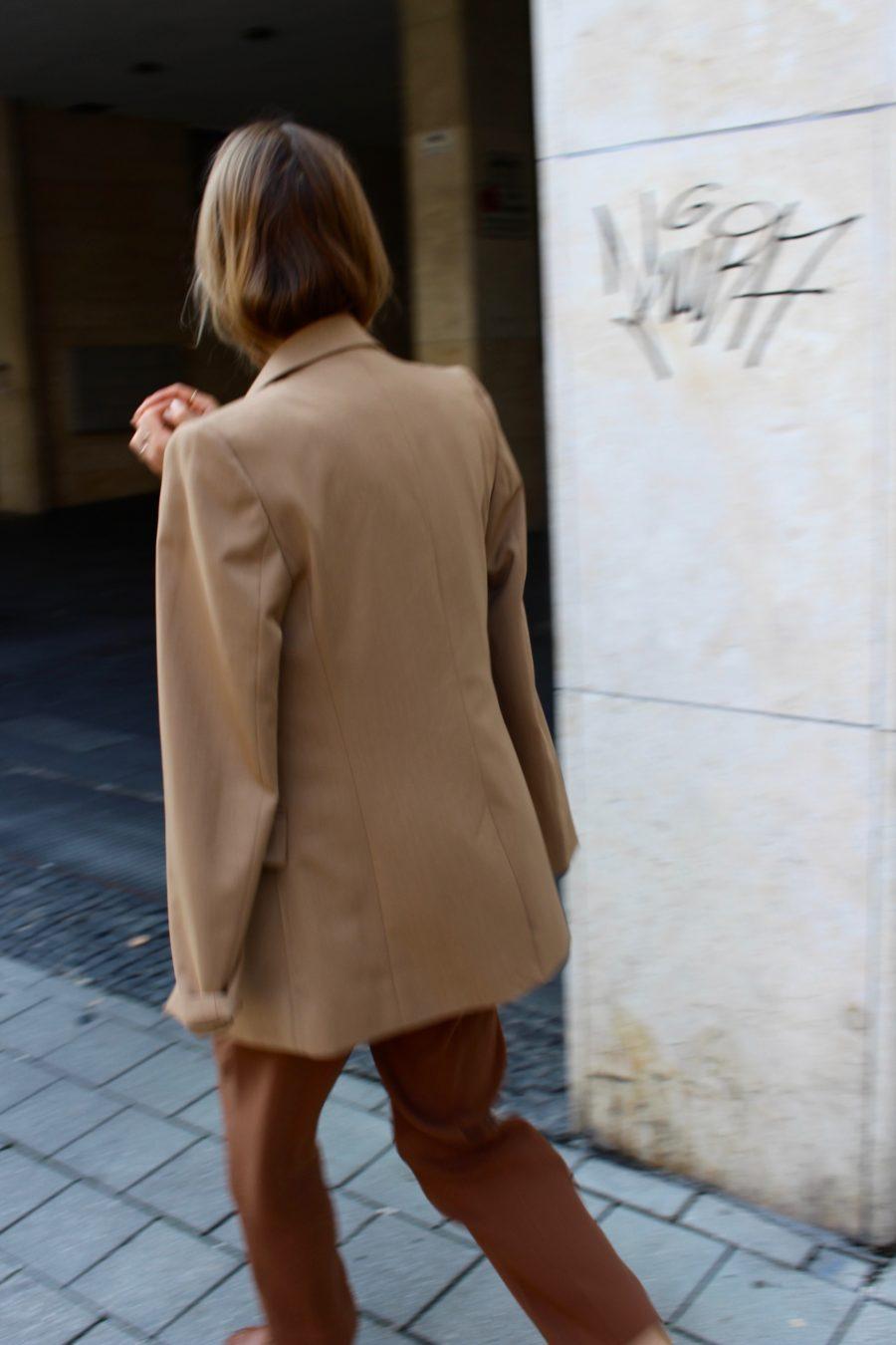 Oversized Blazer brown