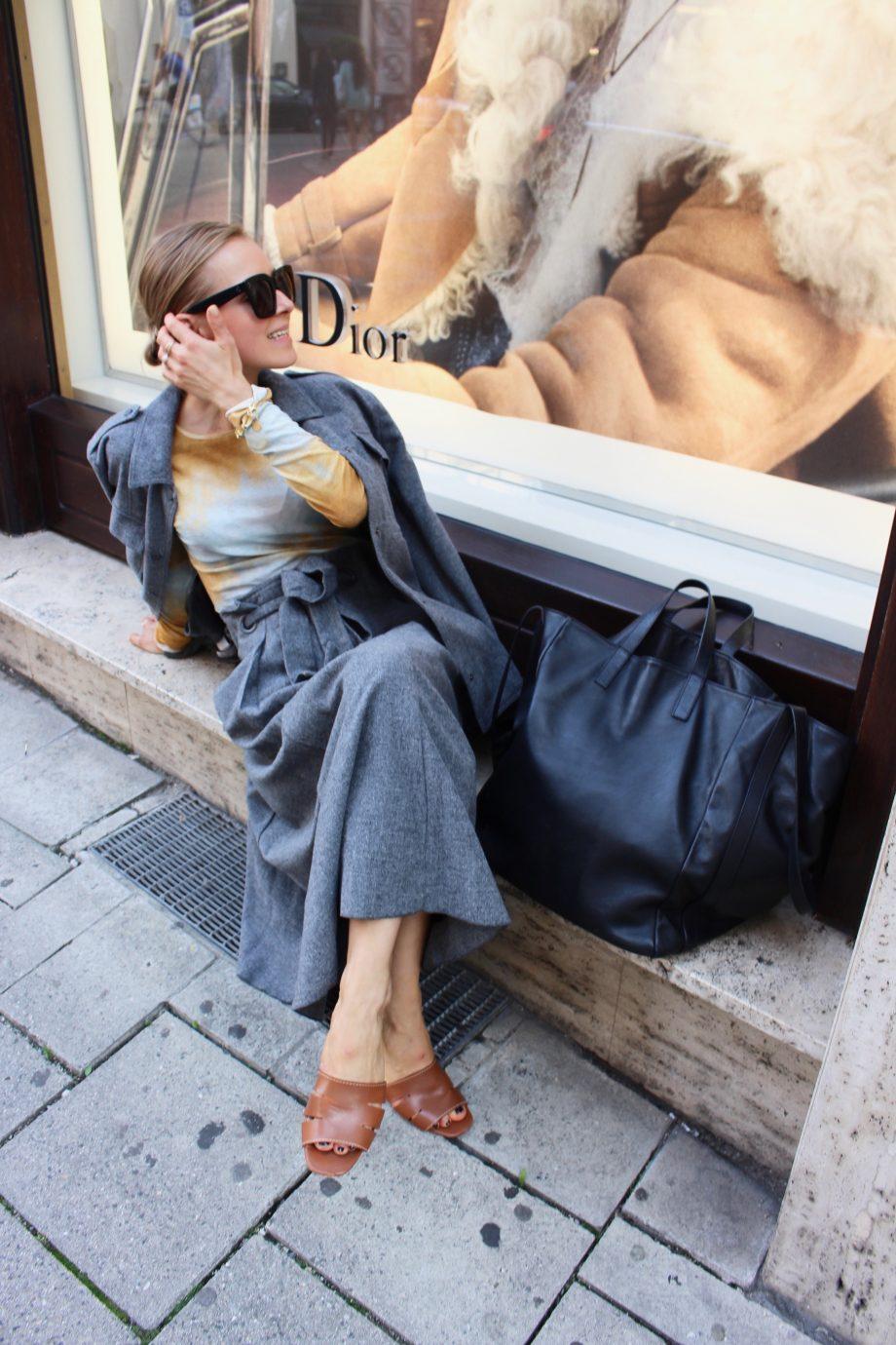 The Grey Wool Skirt |21.09.2018