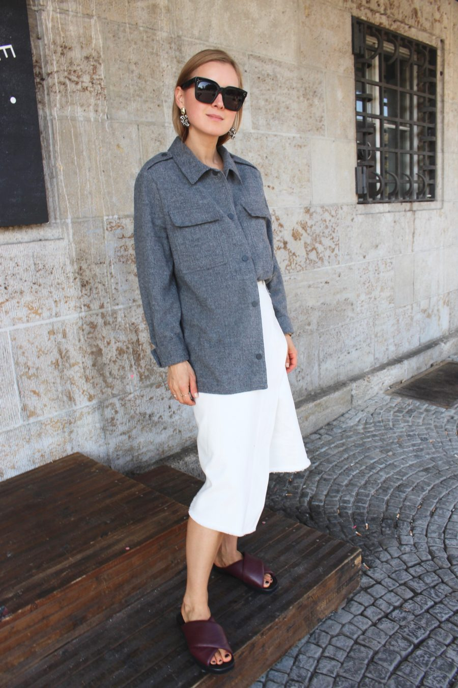 Céline Skirt denim fall winter 2018