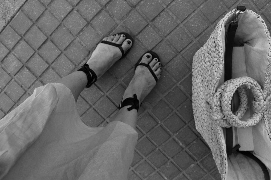 mango céline shoes black