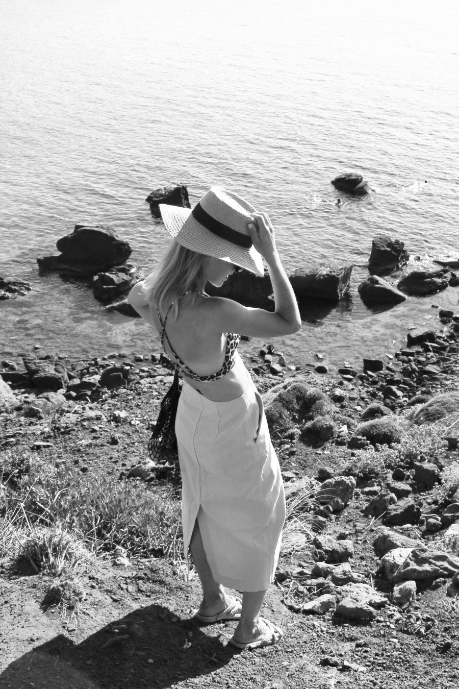 Linen skirt H&M Trend