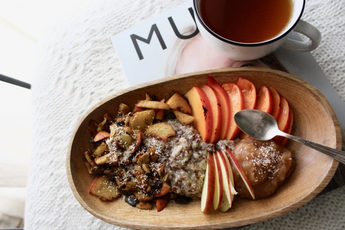 Apple Breakfast - dreierlei vom Apfel