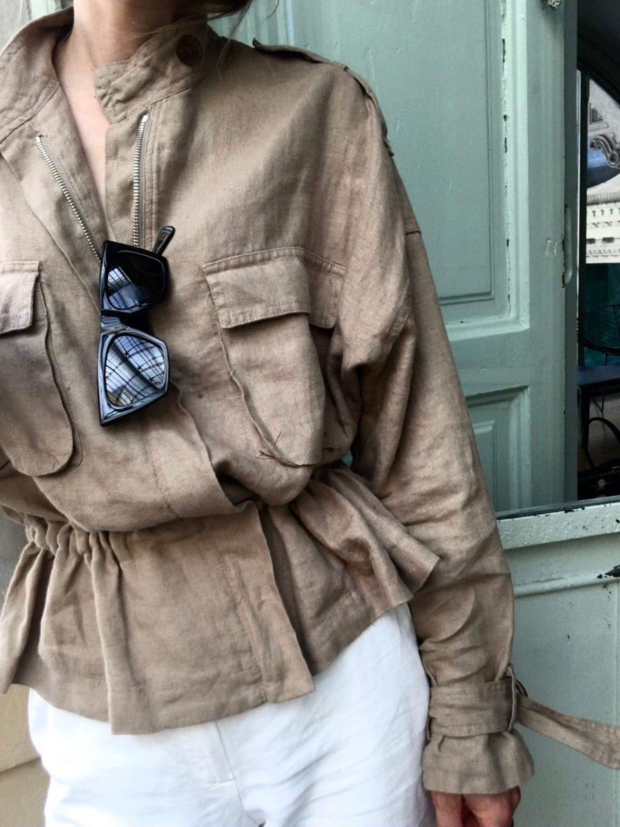Linen Jacket summer 2018 zara