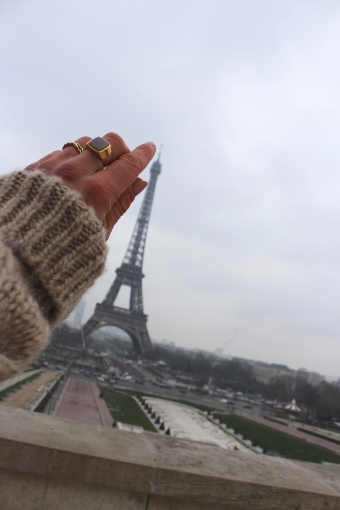 old céline collection ring accessoires