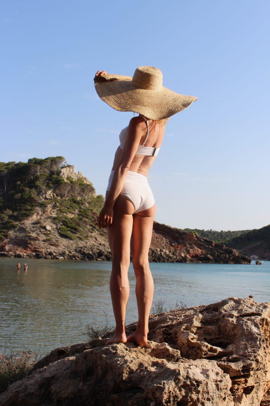 Her Line Swimwear white bikini