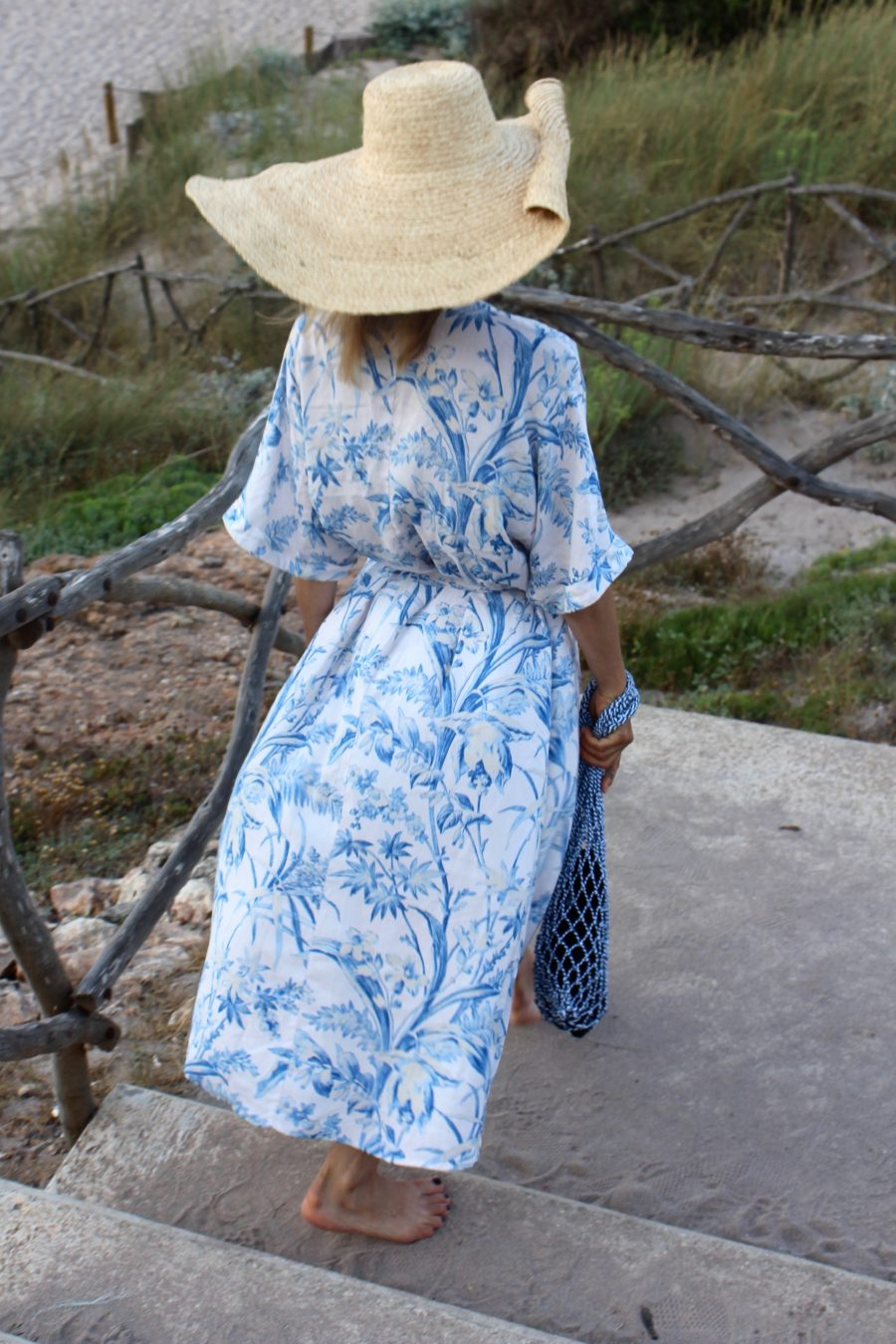The Blue Kaftan Dress H&M trend