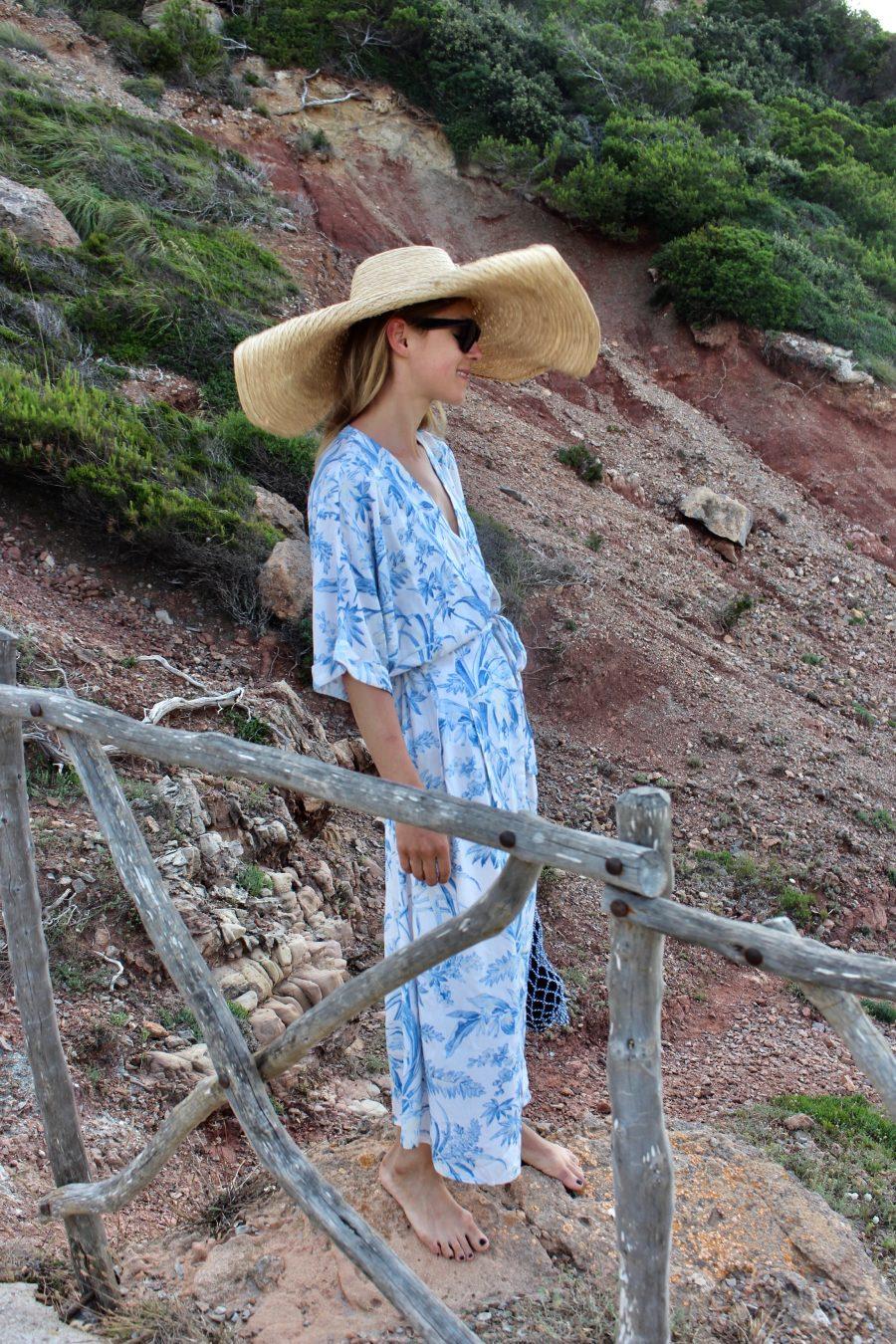 The Blue Kaftan Dress H&M trend