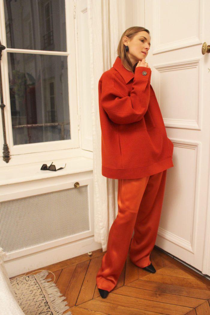 weite hose rot