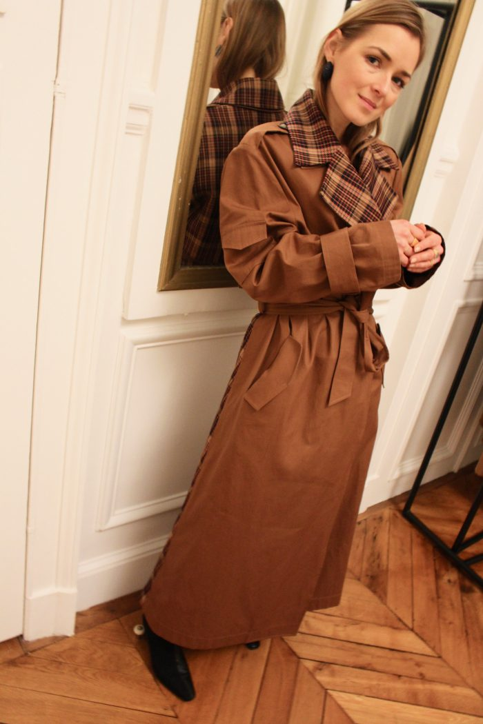 The Bouguessa Trenchcoat Fall Winter 2019