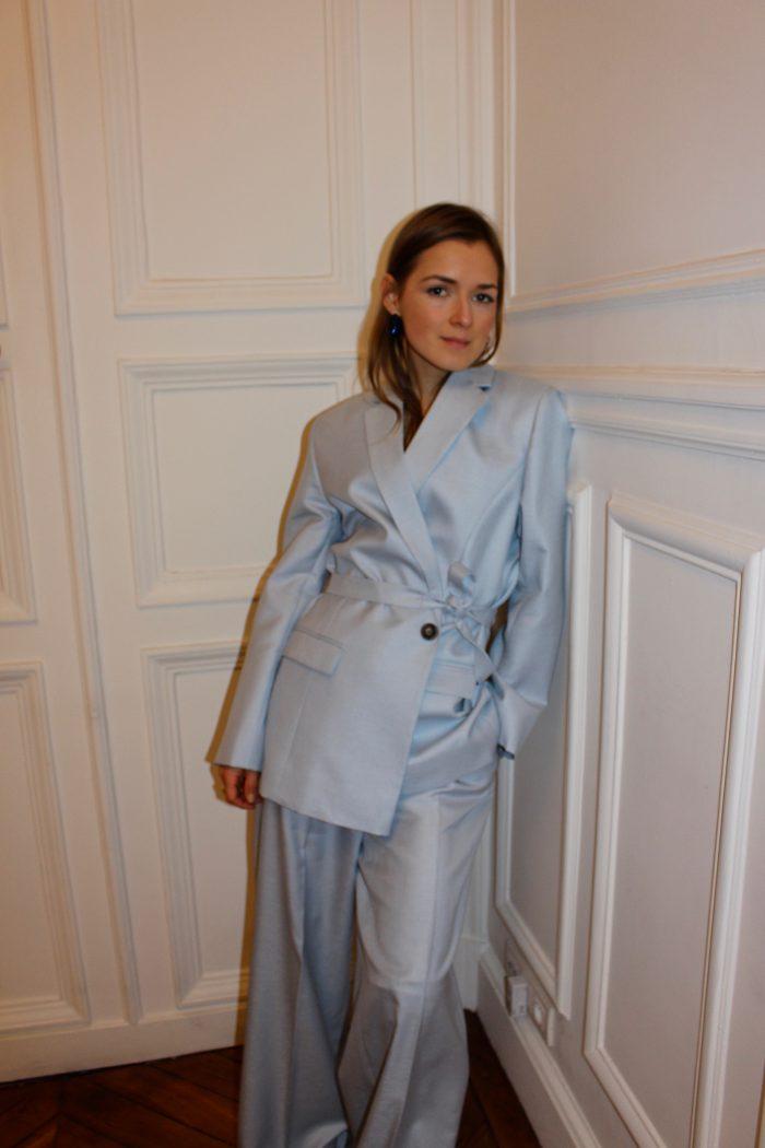 suit baby blue