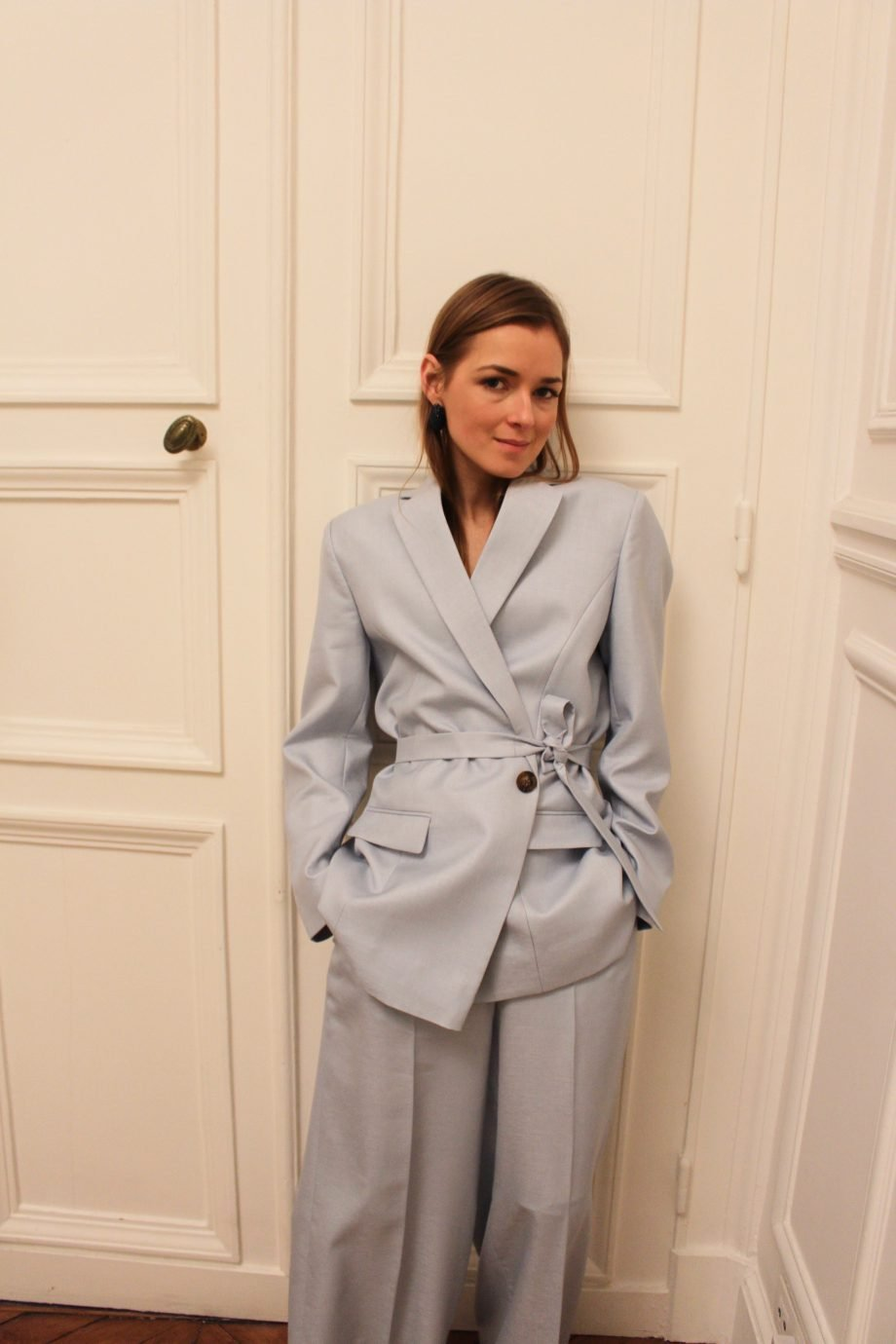 The Baby Blue Bouguessa Suit |01.02.2019