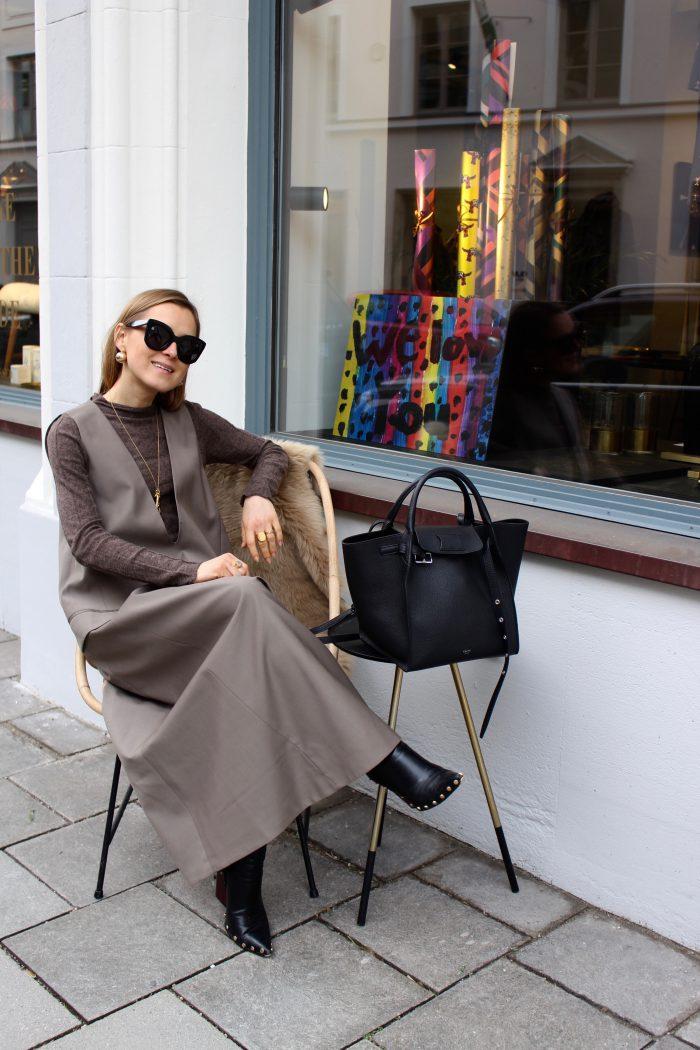 cos stores maxi dress
