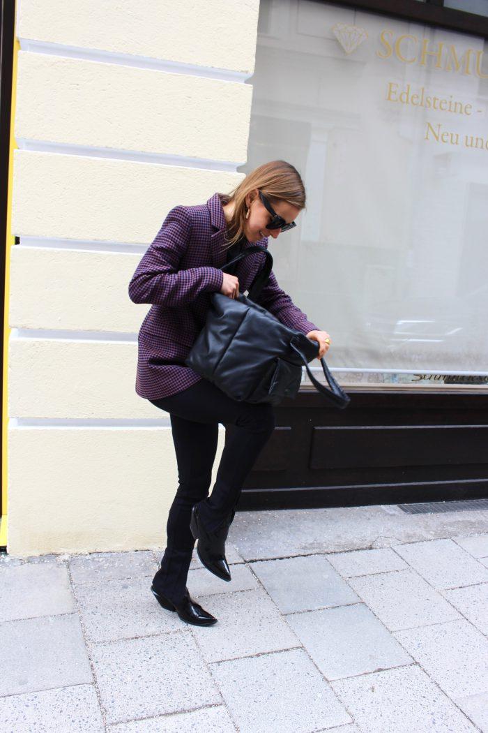leggings black balenciaga