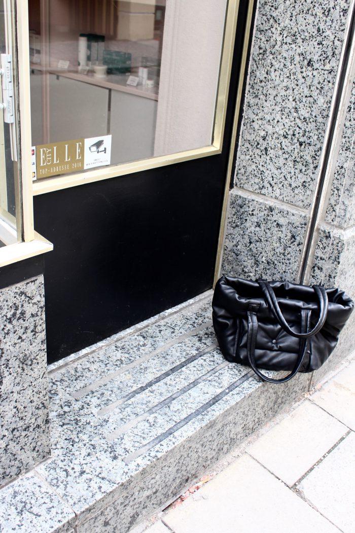 pillow bag black