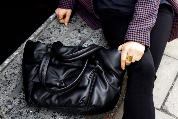 céline pillow bag black