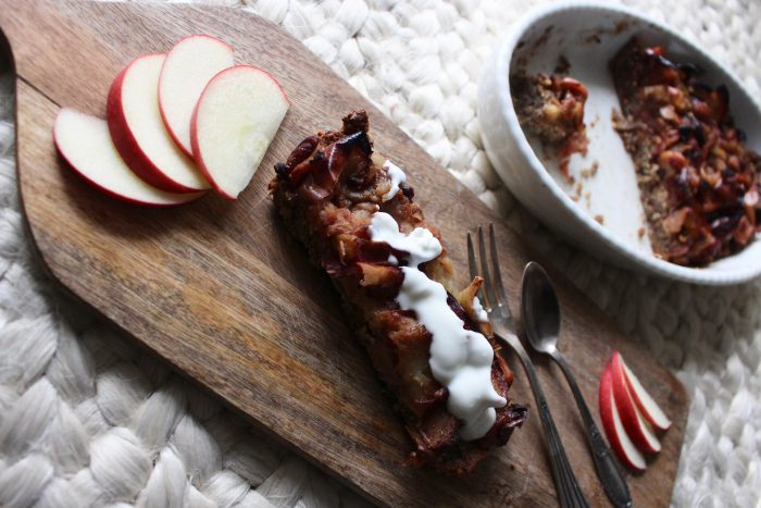 Apple Cinnamon-Friand