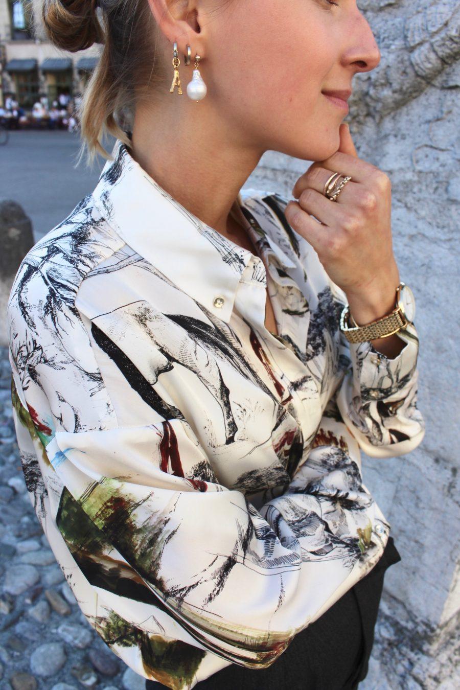 zara silk collection 2018 fall winter