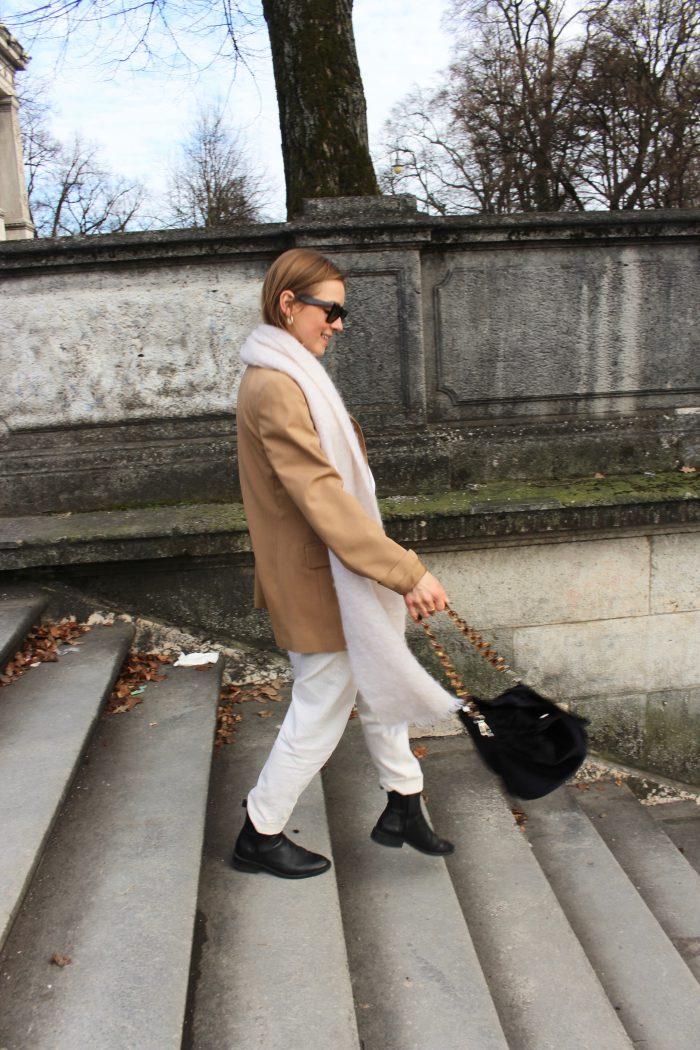 white cord pants massimo dutti