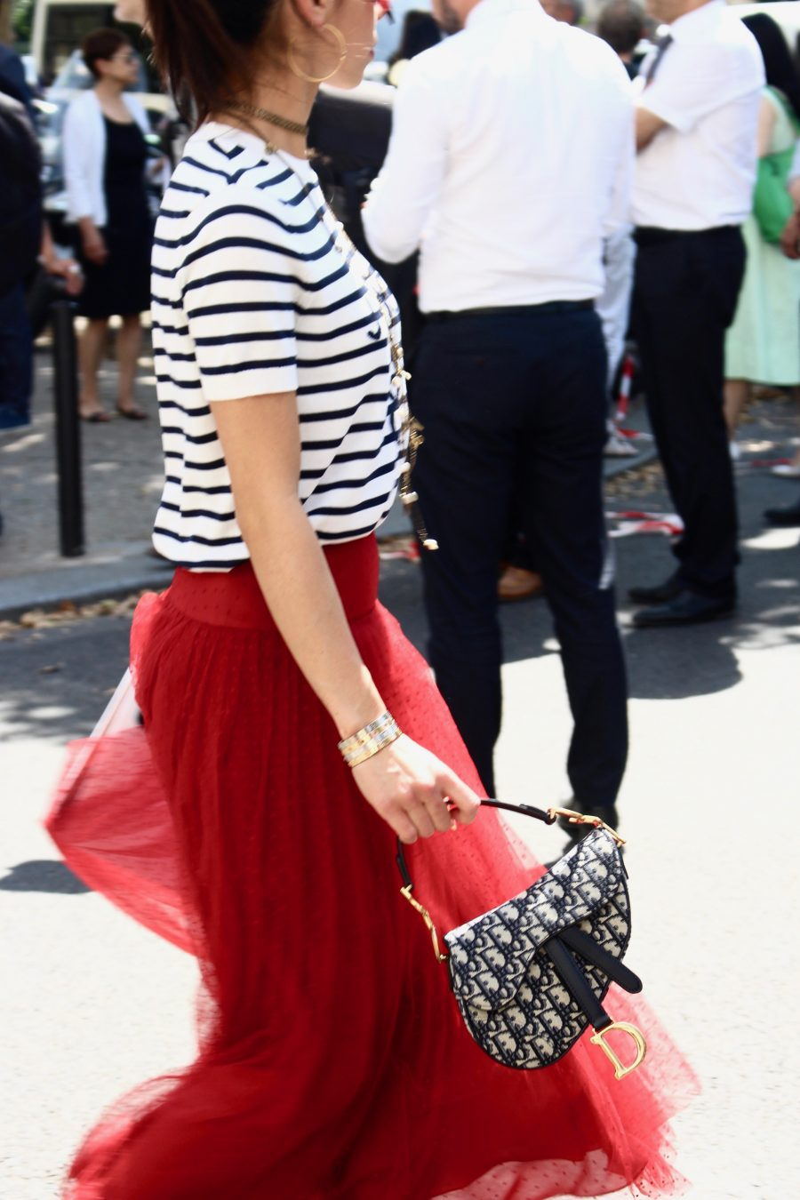 Street Style Paris Fashion Week Haute Couture 18/19 , Day 2
