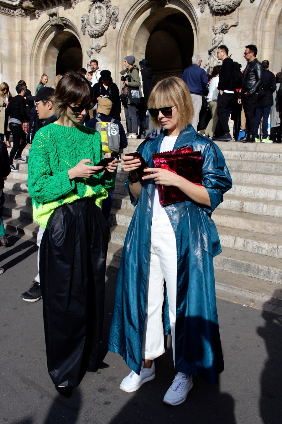 Street Style Paris Fashion Week SS19 , Day 7