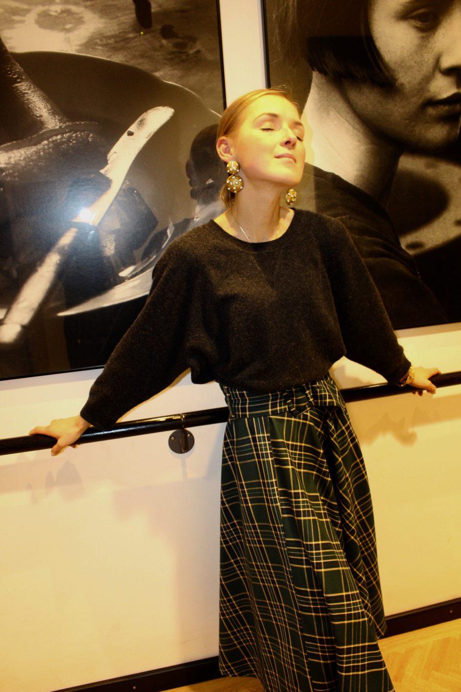 midi skirt zara new collection