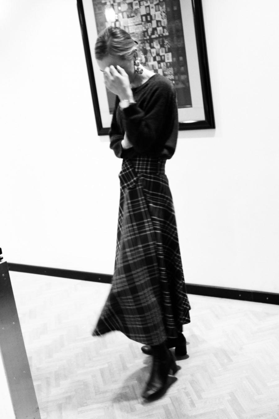 Zara Rock kariert grün