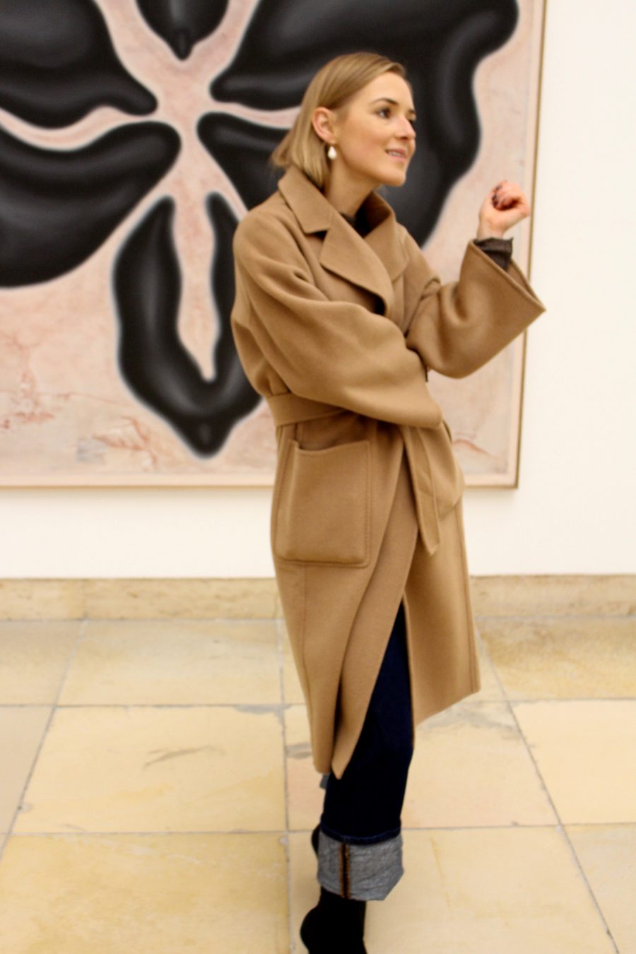 oversized coat camel trend 2018