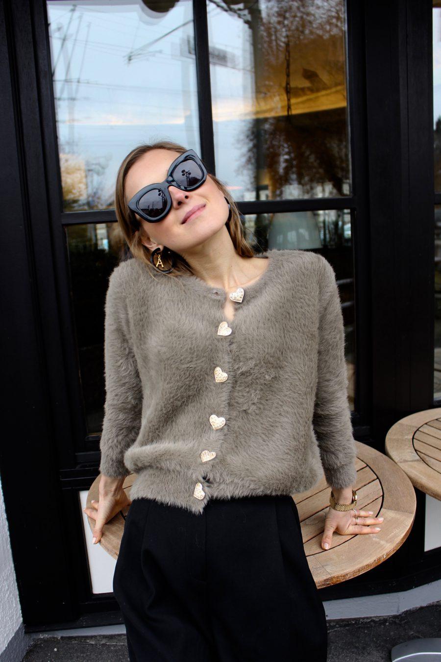 Céline Marta black Sunglasses