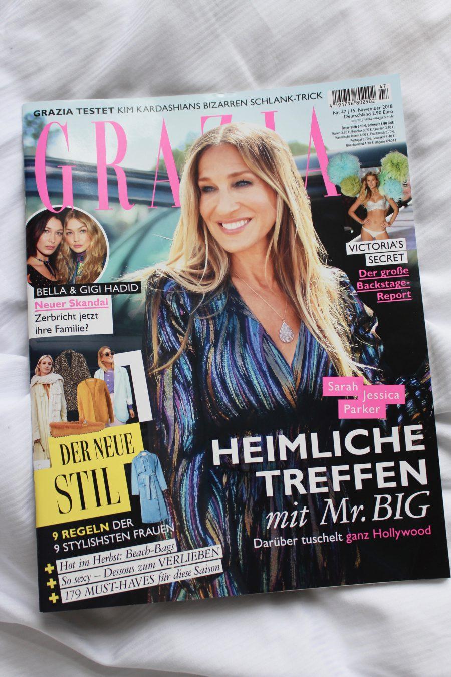 Grazia Germany December 2018 Issue
