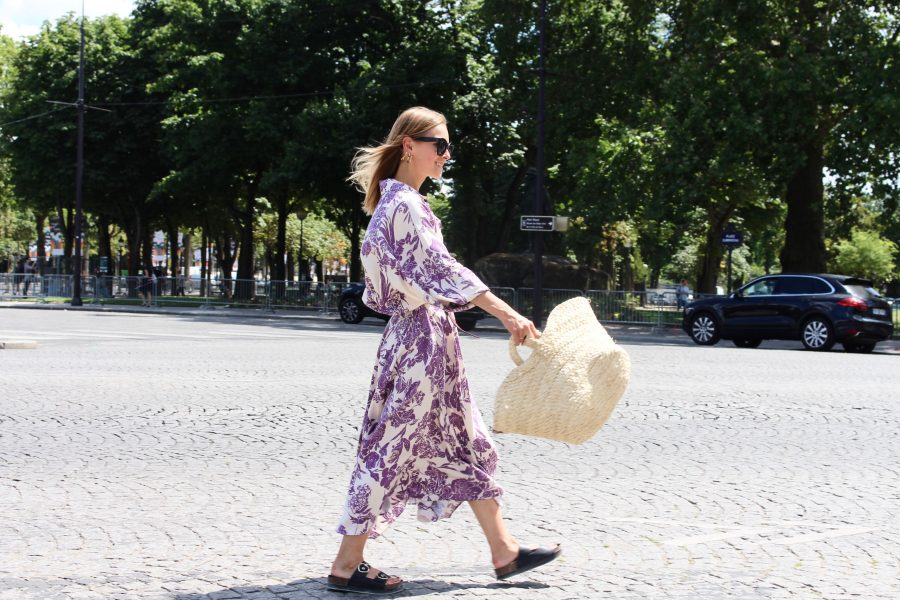 Floral skirt H&M trend 2018